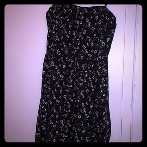 Cute once worn JOA black & white floral sundress
